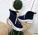 Ультрамодные демисезонные ботинки женские, фото 5
