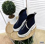 Ультрамодные демисезонные ботинки женские, фото 6