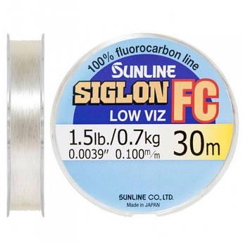 Флюорокарбон Sunline 30m 0.10mm 0.7kg