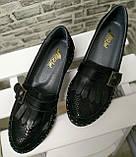 Туфли женские весна-осень из натуральной кожи от производителя модель НИ-0517, фото 3