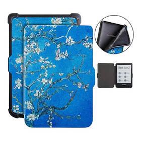 """Чехол - обложка дляэлектронной книги PocketBook 616,627,632 Van Gogh «Цветущие ветки миндаля"""""""