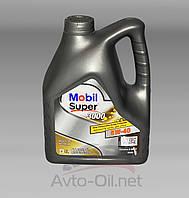 Моторное масло Mobil 5w-40 Super 3000 4л, фото 1