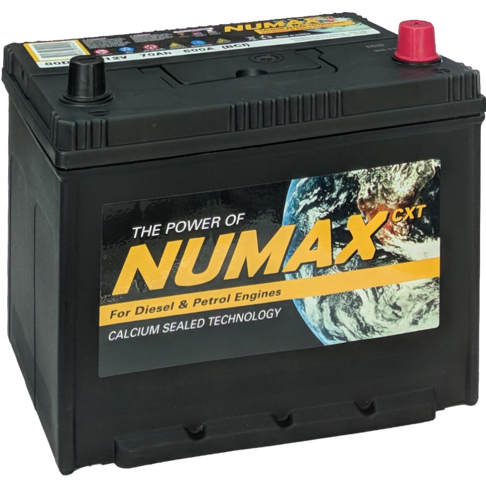 Аккумулятор 70Ah 600A R 80D26L Numax Asia