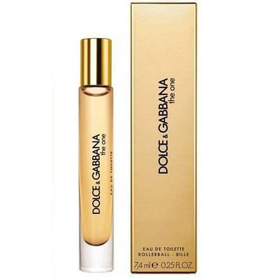 Женские духи DOLCE & GABBANA The One for Women roll-on 7.4ml парфюмированная вода, цветочно-фруктовый аромат