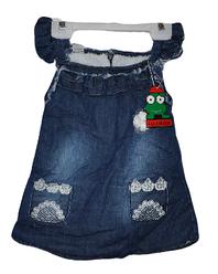 Джинсовый сарафан 2-5 лет.Детская одежда оптом.