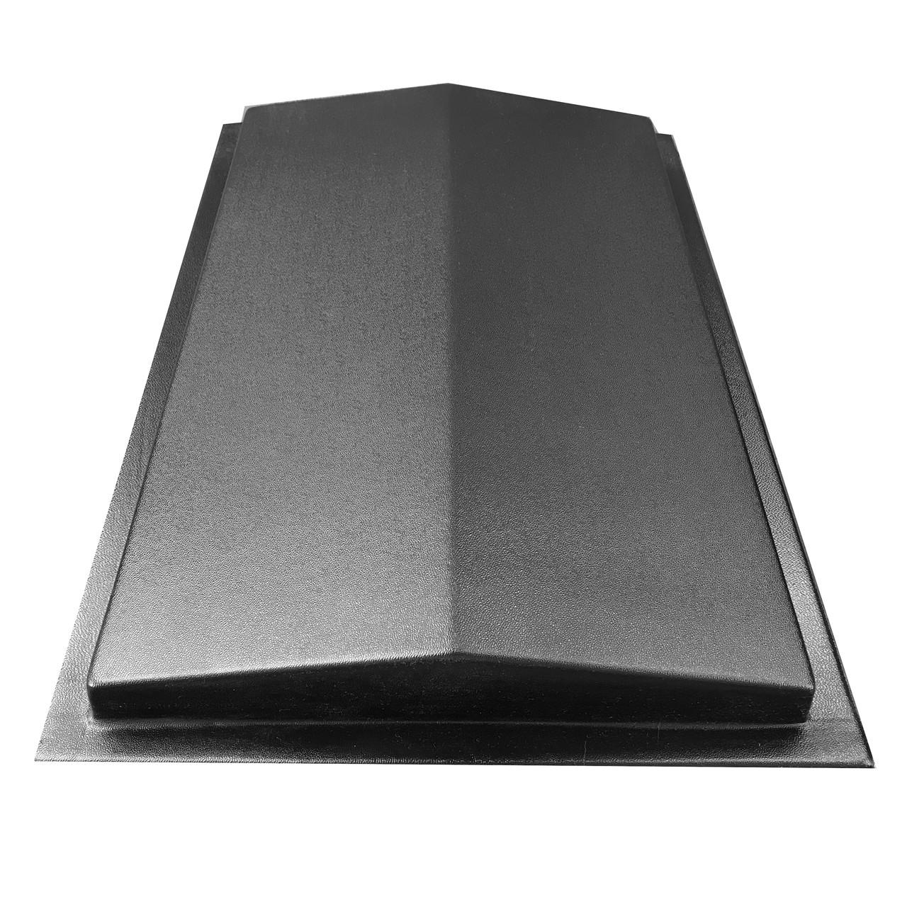 """Форма для парапета на забор """"Гладкий"""" 310*500*50 мм; для литья бетонных коньков на забор"""