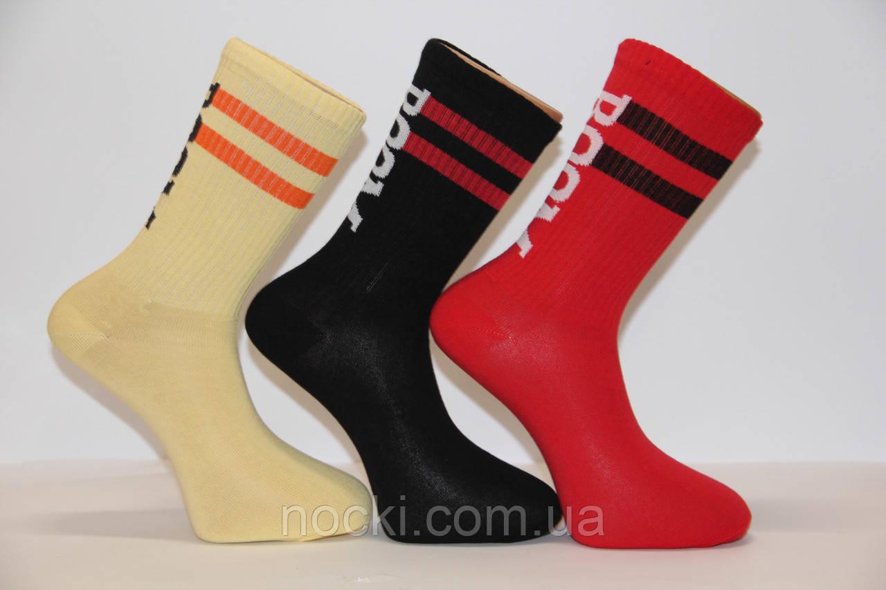 Мужские носки высокие ТЕННИС НЛ с надписями
