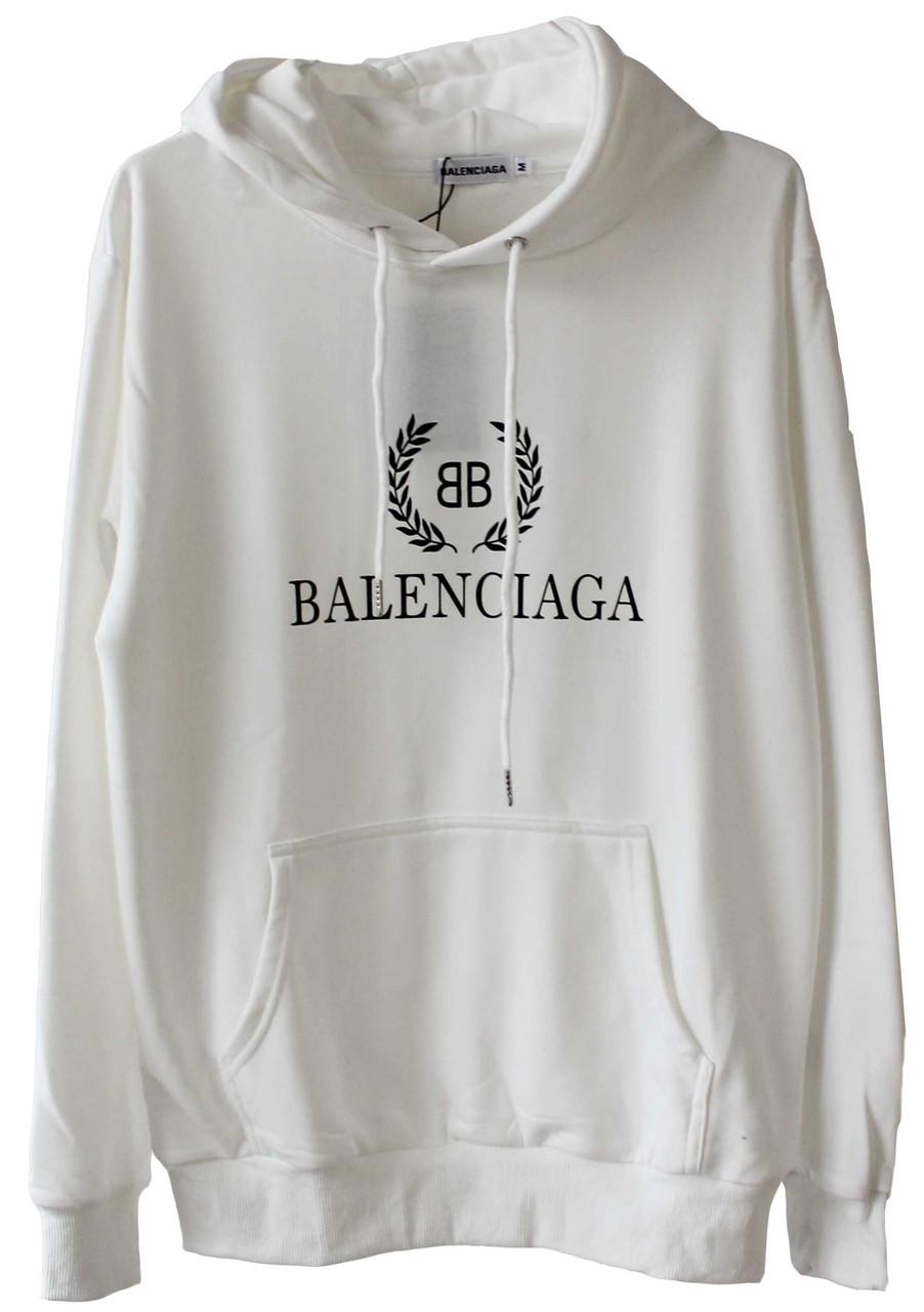 Худи Balenciaga Белый (ориг.бирка)