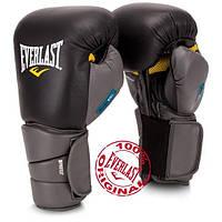 Боксерські рукавички EVERLAST Protex3 Evergel 16 унцій, натуральна шкіра