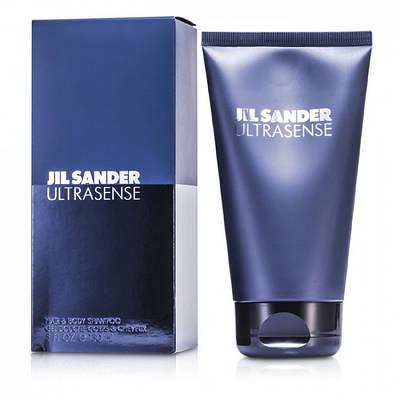 Чоловічий шампунь Jil Sander Ultrasense 150ml, свіжий фужерний мускусний аромат ОРИГІНАЛ