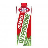 Молоко питьевое коровье ультрапастеризованное Wypasione 3,2% жира ТМ Mlekovita, Польша 1л