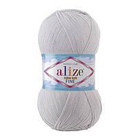 Alize Cotton Fine Gold № 200 світло-сірий