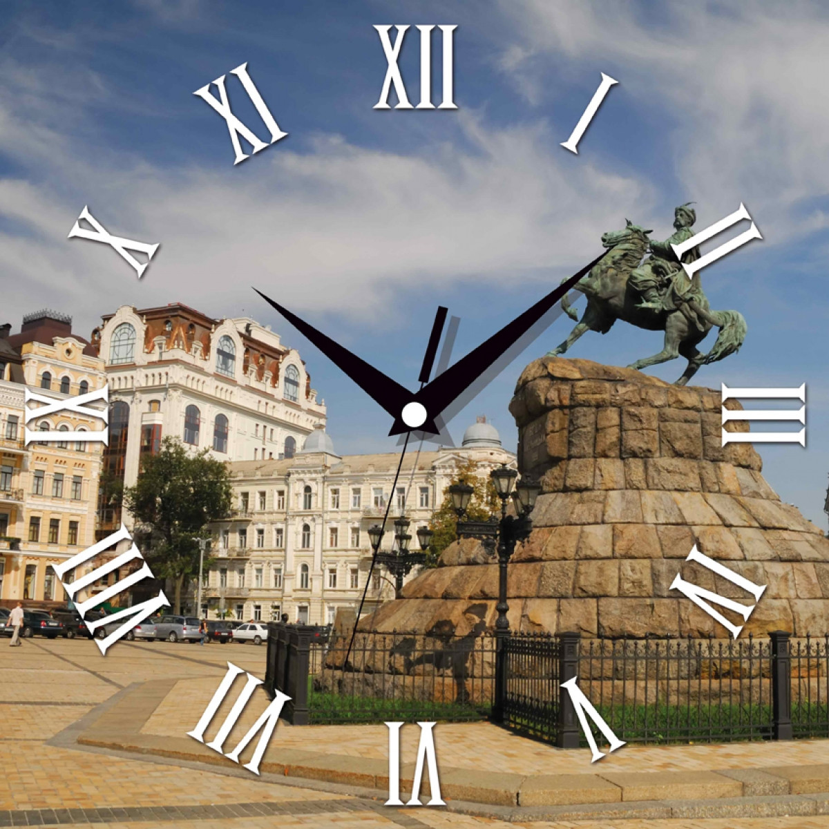 Часы настенные UTA Panorama 300 х 300 х 21 мм Украина