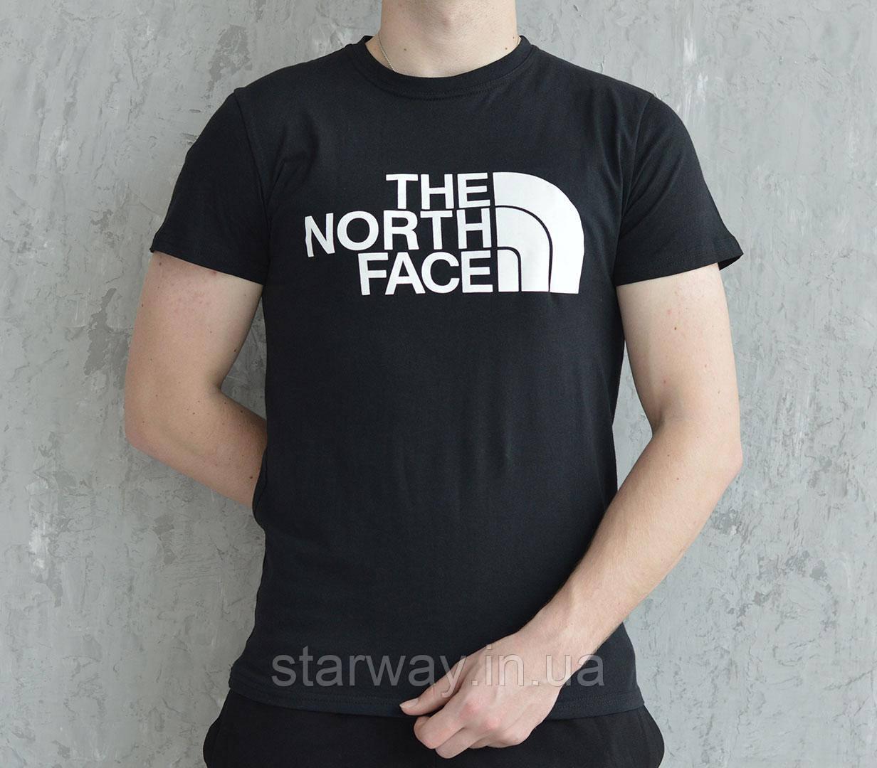Футболка стильная принт The North Face logo