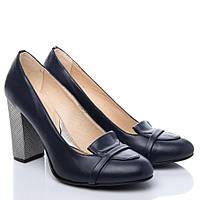 Туфли La Rose 2190 36(24,2см) Синяя кожа