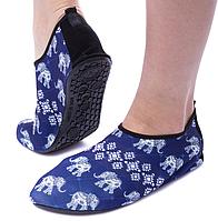 Неопреновая обувь аквашузы Skin Shoes белый слон 34-42
