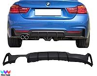 Накладка на задний бампер Performance Bmw 4-series  BMW F32 F33 F36