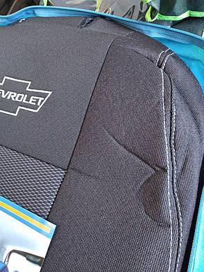 Чехлы Chevrolet Lacettiс 2004 г. 2/3 спина / 4 подголовника, фото 2