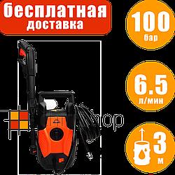 Минимойка Vitals Am 6.5-100w compact, мойка самовсасывающая, аппарат высокого давления для мойки авто