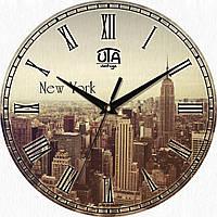 Часы настенные UTA Vintage 330 х 330 х 27 мм Город