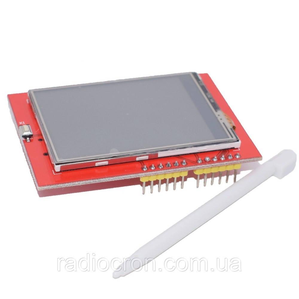 """Сенсорный дисплей Arduino TFT 2.4"""" LCD"""