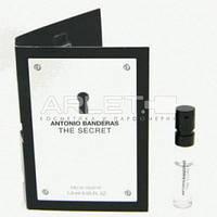 Antonio Banderas the Secret - туалетная вода  (Оригинал) 1,5ml (пробник)