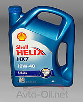Моторное масло Shell Helix HX7 10w40 Diesel 4l