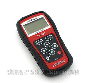 Автомобильный диагностический сканер OBDII/EOBD KONNWEI KW808 I Автосканер OBD2 I Диагностика автомобиля