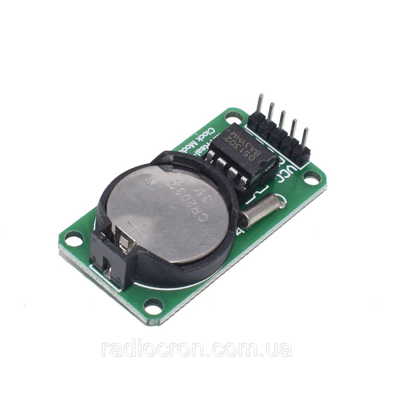 Часы реального времени RTC DS1302 + батарейка!