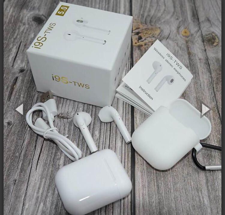 Беспроводные наушники Bluetooth TWS i9S реплика Air Pods