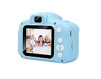Детский фотоаппарат GM14 голубой, фото 1