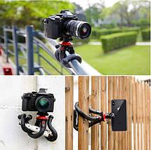 Гибкий штатив/трипод/тренога Fotopro 27 см для смартфонов и фотоаппаратов, фото 3
