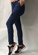 Спортивные брюки с накладными карманами N° 125 синий, фото 3