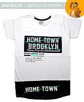 """Модная футболка для мальчика """"Home Town"""" (от 9 до 12 лет), фото 2"""