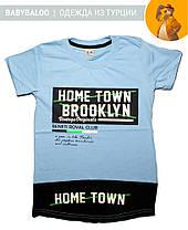 """Модная футболка для мальчика """"Home Town"""" (от 9 до 12 лет), фото 3"""