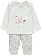 "Пижама для девочки ""Кошечка"" George (Англия) р.80см. (9-12мес.)"