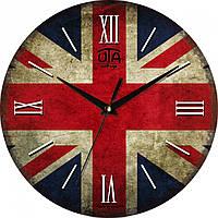 Часы настенные UTA Vintage 330 х 330 х 27 мм Флаг