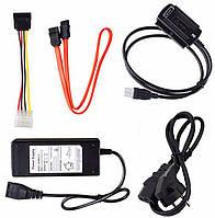 USB SATA IDE 2,5 и 3,5 переходник с блоком питания
