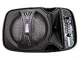E-6333B портативна Бездротова bluetooth колонка - валіза з караоке, фото 5