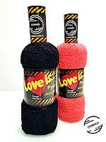 Подарок из махрового полотенца 50*90 Бутылка в тубусе Domiko
