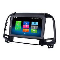 "Штатна автомагнітола Hyundai Santafe 2007-2011 Android 10.1 Екран 9"" Пам'ять 4/32 Гб, фото 2"