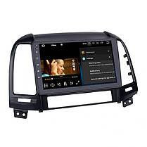 "Штатна автомагнітола Hyundai Santafe 2007-2011 Android 10.1 Екран 9"" Пам'ять 4/32 Гб, фото 3"