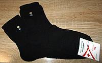Носки теплые мужские Премиум на махре размер 41-45 черные