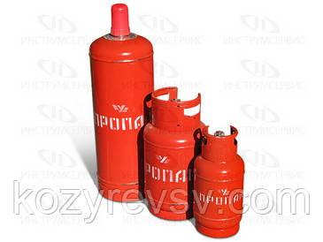 Газовый баллон 5л, 12л, 18л, 27л, 50л (г. Севастополь) с вентилем ВБ-2