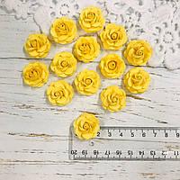 Роза жёлтая ДГ 20-25 мм, фото 1