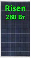 Солнечная панель 280Вт RSM60-6-280P 5ВB Risen, фото 1