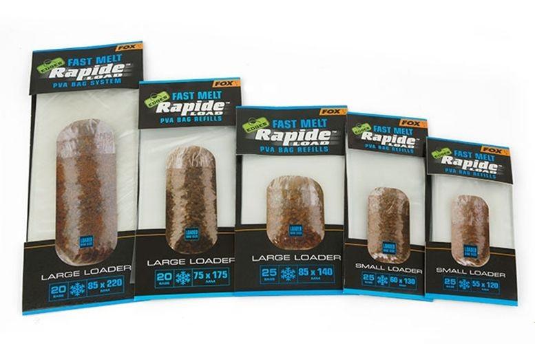 ПВА пакеты быстро растворимые Fox Edges Rapide Refills Fast Melt 75mmx175mm x 20 пакетов