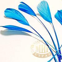 Перья -антенки 15-20см, цвет Blue Zircon *1шт