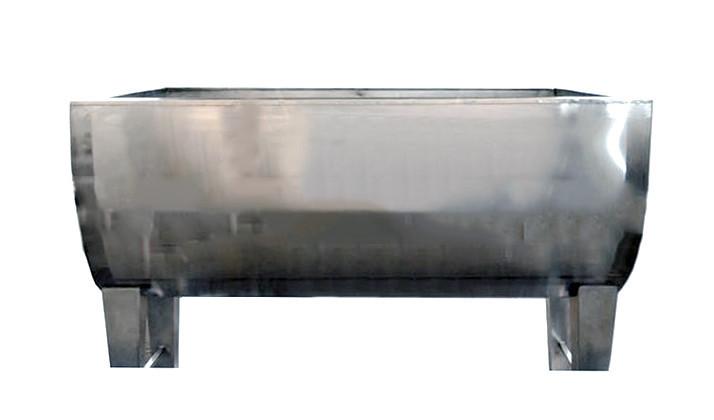 Творожная емкость/ Ванна для производства творога 2000 л (нержавеющая сталь)