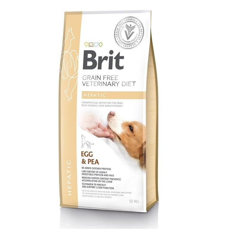 Корм для собак Brit Care Veterinary Diet Hepatic (при печінковій недостатності) 12кг